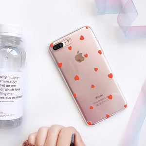 Love Heart Ultra Thin iPhone Case-TrendyVibes.CO