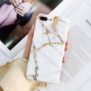 Luxury Marble iPhone Phone Case-TrendyVibes.CO