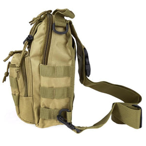 Military Tactical Chest MOLLE Sling Bag - Military Tactical Chest MOLLE Sling Bag
