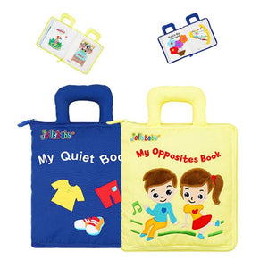 Baby's Soft Cloth Educational Activity Books