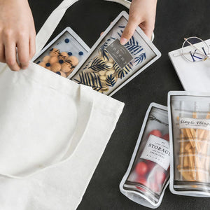 Multi Function Portable Transparent Sealed Bag Food Organizer - Multi Function Portable Transparent Sealed Bag Food Organizer