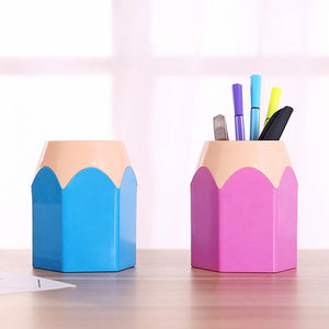 Colorful Pencil Shaped Desk Organizer