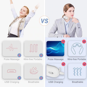 Intelligent Neck And Shoulder Muscle Massager For Relaxation And Pain Relief