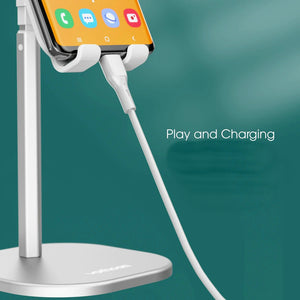 Adjustable Charge and Watch Phone and Tablet Stand