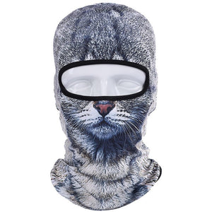 Cat and Dog Designed Winter Balaclava-TrendyVibes.CO