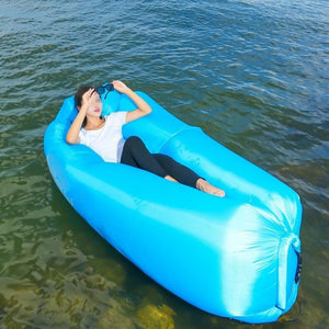 Lightweight and Waterproof Inflatable Air Bed-TrendyVibes.CO