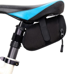 Outdoor Activities Waterproof Nylon Bicycle Rear Saddle Bag - Waterproof Nylon Bicycle Rear Saddle Bag