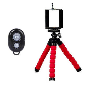 Phone Accessories Light And Flexible Tripod For IPhone And Android Phones With Bluetooth Remote Shutter - Light And Flexible Tripod For IPhone And Android Phones With Bluetooth Remote Shutter