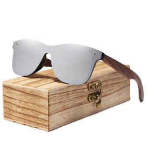 Polarized Walnut Wood Sunglasses - Polarized Walnut Wood Sunglasses