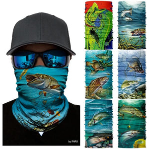 Quick-Dry Face Mask Neck Gaiter For Fishing And Outdoor Activities - Quick-Dry Face Mask Neck Gaiter For Fishing And Outdoor Activities