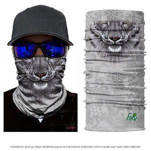 Seamless 3D Animal Themed Multi-Purpose Neck Warmer Masks - Seamless 3D Animal Themed Multi-Purpose Neck Warmer Masks