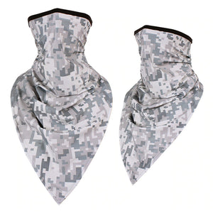 Seamless Camouflage Multi-Purpose Face Mask Neck Gaiter - Seamless Camouflage Multi-Purpose Face Mask Neck Gaiter