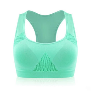 Seamless Padded Athletic Sports Bra - Seamless Padded Athletic Sports Bra