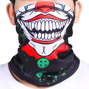 Seamless Street Art Graffiti Print Face Mask Neck Gaiter - Seamless Street Art Graffiti Print Face Mask Neck Gaiter