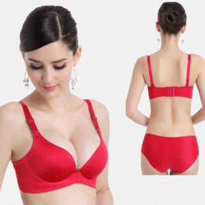 Sexy Deep Cup Wireless Seamless Bra - Sexy Deep Cup Wireless Seamless Bra