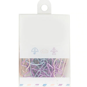Decorative Metal Binder Clips Combination Set