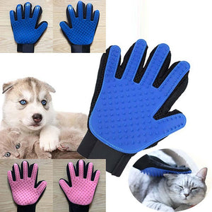 Silicone Glove For Grooming Brushing And Cleaning Pets Hair - Silicone Glove For Grooming Brushing And Cleaning Pets Hair