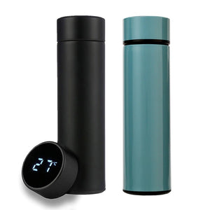 Stainless Steel Smart Water Bottle With LED Temperature Display