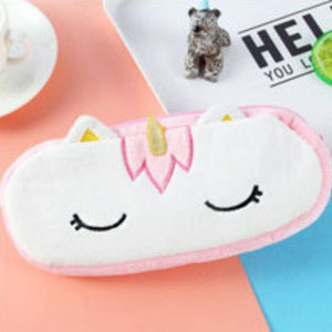 Soft and Charming Pastel Colored Unicorn Pencil Case-TrendyVibes.CO