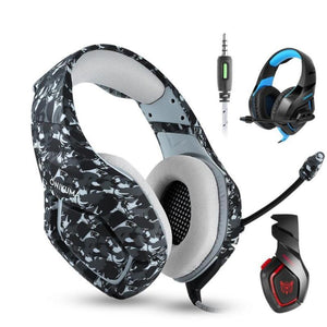 Stereo Gaming Headphones Foldable Earphones-TrendyVibes.CO