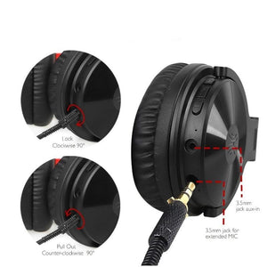 Stereo Wireless Bluetooth Headphones with Microphone