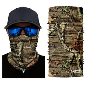Stretchable And Seamless Camouflage Print Face Shield Neck Gaiter - Stretchable And Seamless Camouflage Print Face Shield Neck Gaiter