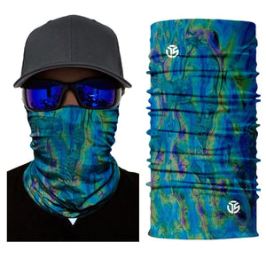 Stretchable Galaxy Print Multi-Purpose Neck Warmer Mask - Stretchable Galaxy Print Multi-Purpose Neck Warmer Mask