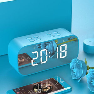 Subwoofer Music Sound Box Alarm Clock-TrendyVibes.CO