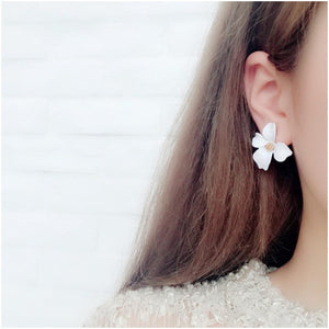 Summer Bloom Floral Earrings - Summer Bloom Floral Earrings