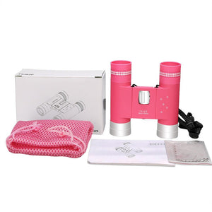 Compact Folding Binoculars for Kids