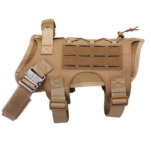 Heavy Duty Tactical Dog Harness Vest
