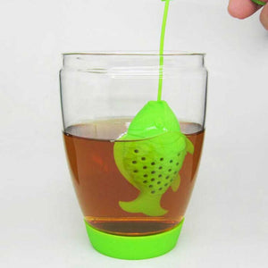 Tea Bag Filter Unicorn Shape Creative Infuser Silicone Strainers