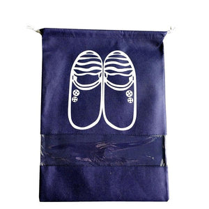 Travel Must Have Waterproof Shoes Storage Drawstring Bags - Waterproof Shoes Storage Drawstring Bags