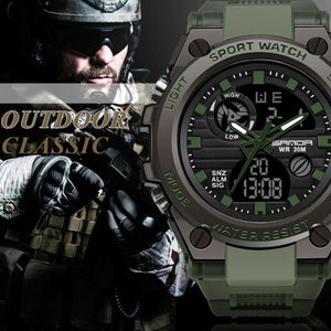 Watch Waterproof Military Style Watch For Men - Waterproof Military Style Watch For Men