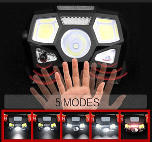 Waterproof LED Ultra Bright Headlamp