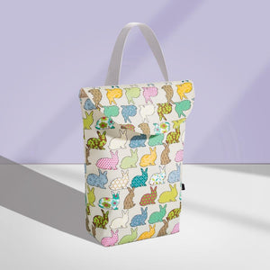 Waterproof Multi Functional Reusable Baby Diaper Organizer With Fashion Prints - Waterproof Multi Functional Reusable Baby Diaper Organizer With Fashion Prints