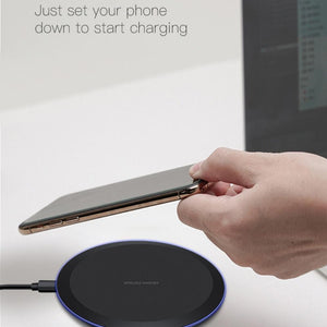 Wireless Fast Charger For Iphone, Samsung And Android - Wireless Fast Charger For Iphone, Samsung And Android