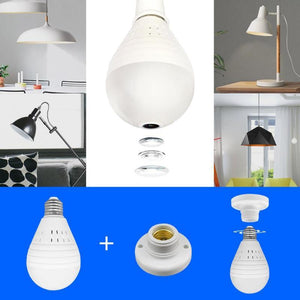 Wireless Light Bulb Home Security Camera-TrendyVibes.CO