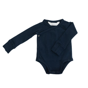 Long Sleeve Onesie - Navy