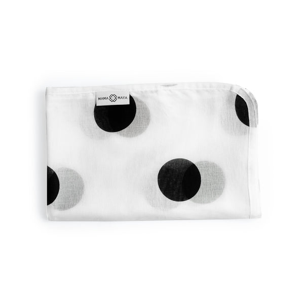 Polka Dot Muslin - Ink