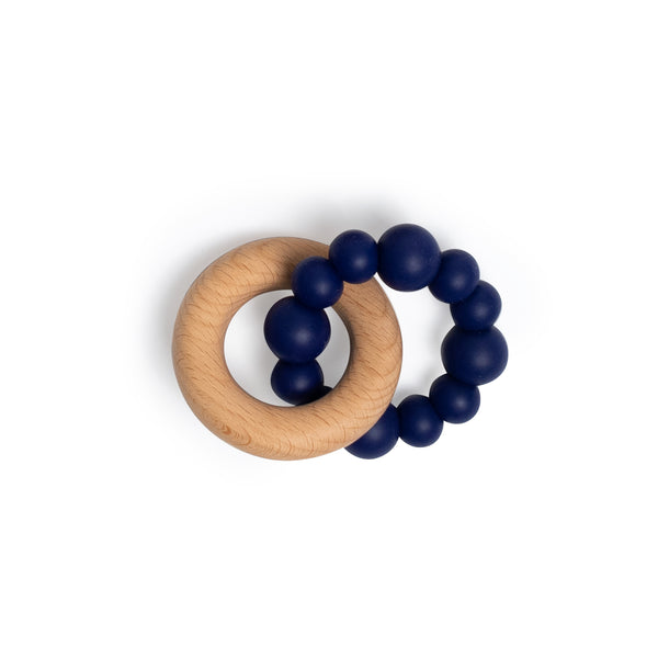 Teething Ring - Navy