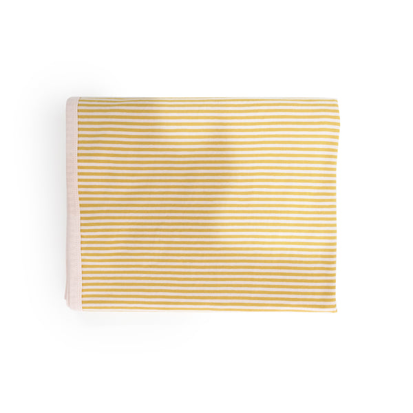 Baby Wrap - Mustard & Blush Stripe