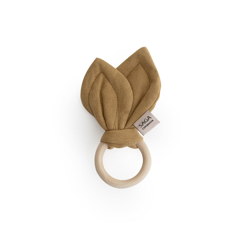 SAGA Teething Ring - Mustard