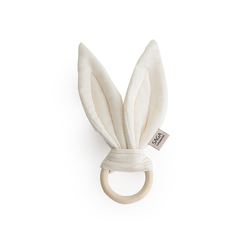 SAGA Teething Ring - Ivory