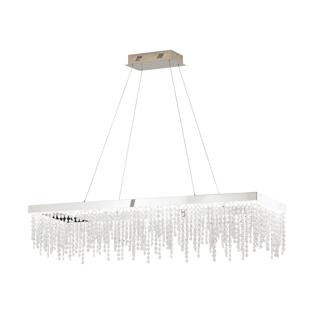 ANTELAO LED RECTANGULAR CHANDELIER