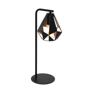 CARLTON 4 TABLE LAMP BLACK/COPPER