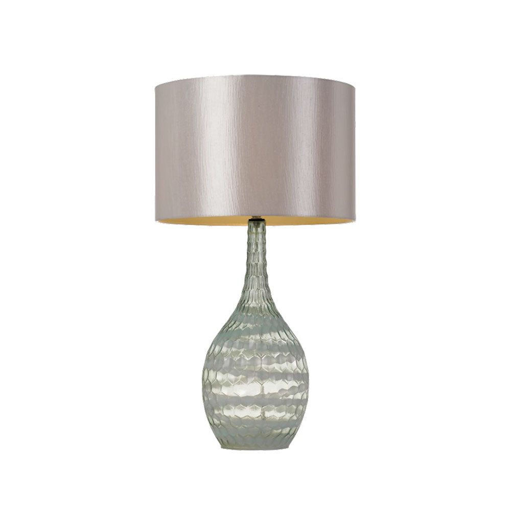 BELINDA Table Lamp blue/Silver