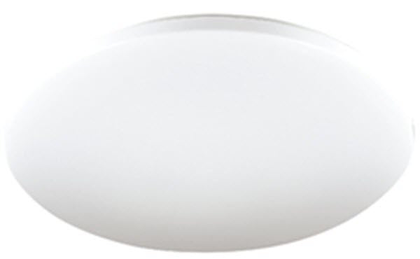 Eva 24W LED Oyster Light 33cm Warm White - Lights Fans Action