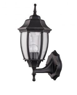 Essex Bronze Two-colour Upward Wall Lantern - Lights Fans Action