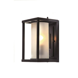Livingston Black Box and Opal Cylinder Glass Wall Exterior